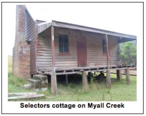 Settler cottage