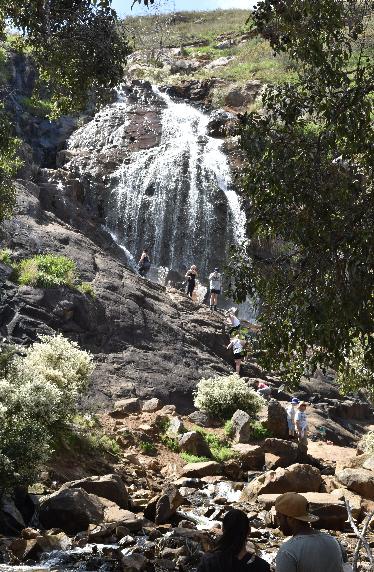 Perth Hills waterfall